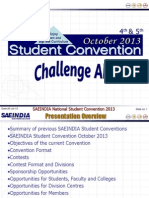 Student Convention 2013