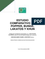 Comparativo Popper Khun