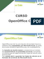 presentacion openoffice calc
