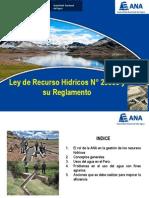 Ley de Recursos Hidricos_ANA