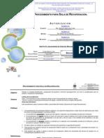 DOM P048 I1 001+Procedimiento+Para+Sala+de+Recuperacion