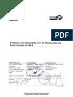 GCL 1.2.6 - Administración de Medicamentos Endovenosos HRR V1-2012