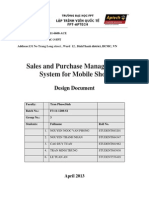 eProject - Sales and Purchase Management System for Mobile Shop