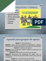 Agenda Para Grupos de Apoyo