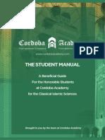 Cordoba Student Manual