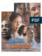 Did You Know - African American pro-life information