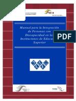 Manual Integracion Educacion Superior
