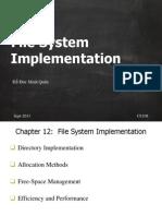 3. File System Implementation