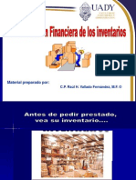 Administracion Financiera de Inventario