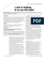 Article the Nurse s Role in Helping Older People to Use the Toilet