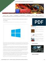 Windows Odyssey - O Sistema da Microsoft muito além de seu tempo