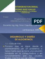 Desarrollo de Algoritmos1