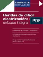 HERIDAS DE DIFÍCIL CICATRIZACIÓN