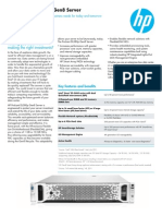 HP ProLiantSDFSDFS DL380 Gen8 Server Data Sheet