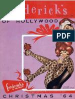 Frederick's of Hollywood Christmas 1964 Catalog