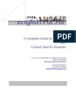 A complete guide for Teachers with start for Students