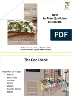 Le Pain Quotidien Cookbook 2013