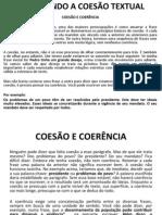 DOMINANDO A COESÃO TEXTUAL