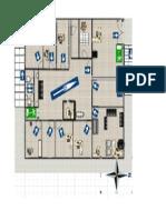 Mapa Evacuacion 1er Piso Oficinas