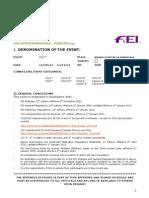 CONVOCATORIA COPA DE REYES CSI1* 2013 - BOSQUE ECUESTRE