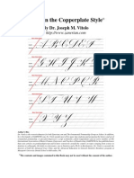 Dr Vitolo Calligraphy Course Book