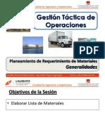 Sem 3.0 - GTO - UPN - Plan de Requerimiento de Materiales - Generalidades