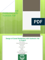 Design of Canal Distributary With Hydraulic Fall