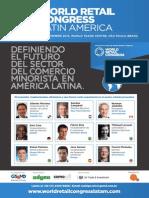 Definiendo el futuro del sector del comercio  minorista en América Latina. 31 DE OCTUBRE- 1 DE NOVIEMBRE 2013, WORLD TRADE CENTRE, SÃO PAULO, BRASIL