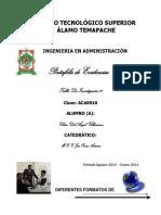 PRINCIPALES ESTILOS DE CITAS BIBLIOGRÁFICAS