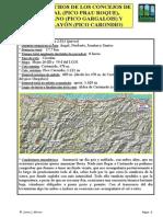 Los techos de los concejos de Boal (pico Prau Roque), Illano (pico Gargalois) y Villayón (pico Carondio)