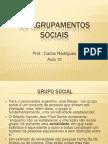 Os Agrupamentos Sociais