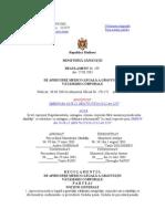 Regulament de Apreciere Medico Legala a Gravitatii Integritatii Corporale
