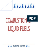Liquid Fuel Combustion