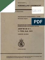 TH 9-345 NEKAF M38A1