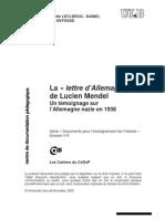 13987062 Mendel Lucien Temoignage Sur lAllemagne Nazie 1938