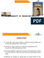 Sustainability of indian DRI industry 1.pptx