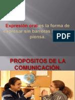PROPOSITOS DE LA COMUNICACIÓN 2