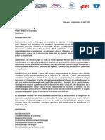 Carta Dirigida Al Nobel Amartya Sen