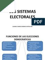 Los Sistemas Electorales