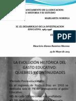 LA EVOLUCIÓN HISTÓRICA DEL GASTO EDUCATIVO