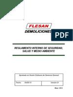 08. Reglamento Interno de Seguridad Salud y MA-FLESAN DEL PERU