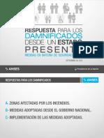 Incendios en Córdoba - Respuesta para los damnisficados