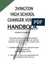 chs choir handbook 2013-2014 final