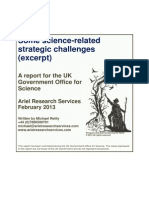 Some Science-related Strategic Challenges - Neuroscience Excerpt