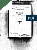 M.Dv.170- 2 Merkbuch über die Munition für die 2cm Flak Madsen - 1942