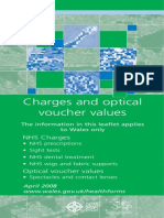 Charges and Optical Voucher Values
