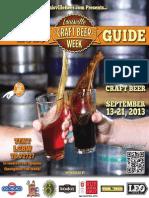 2013 Louisville Craft Beer Week Guide