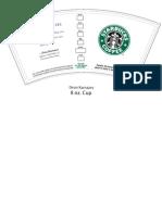 Starbucks Cup Dean Karnazes