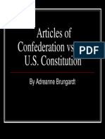 Adreanne Brungardt - Articles of Confederation vs the Constitution