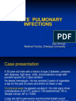 Acute Pulmonary Infections 1
